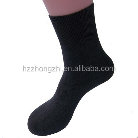 Plain fashion man terry soft sports flooring sock with your logo