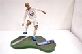 Beckham Famous Star Customized Resin Toys Football Player Action Figures