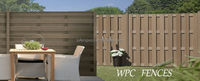 China Wood Plastic Composite Prices DIY Quick WPC Fence
