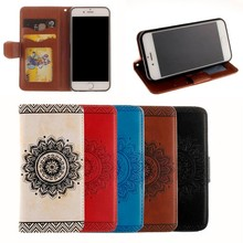 Mandala Wrist Wallet Leather Flip Magnetic Phone Case Cover For Samsung Galaxy s8