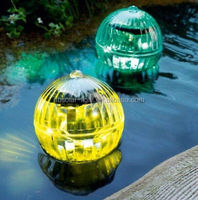 led garden ball light,led ball light outdoor color solar Water ball garden light floating flowers for pools