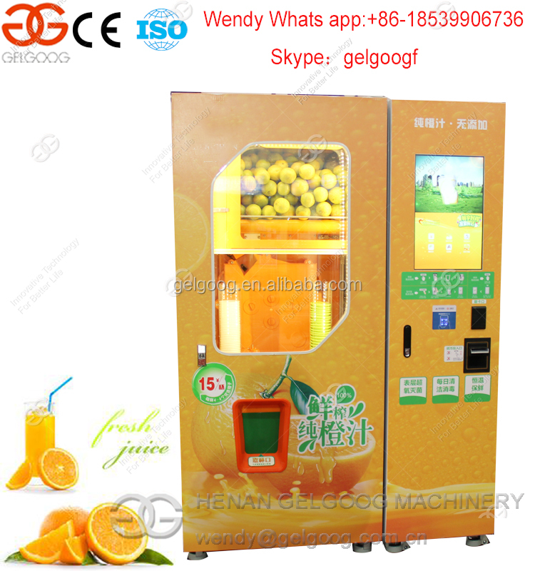 Hot Sale Automatic Orange Juice Vending Machine