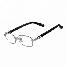 Mens stock spectacle frame custom brand reading glasses 2018