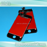 for iphone 4s LCD screen + glass & mobile phone LCD for iphone 4s glass