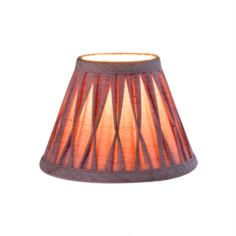 Pleated Cloth lampshade frames dust cover lampshade vintage