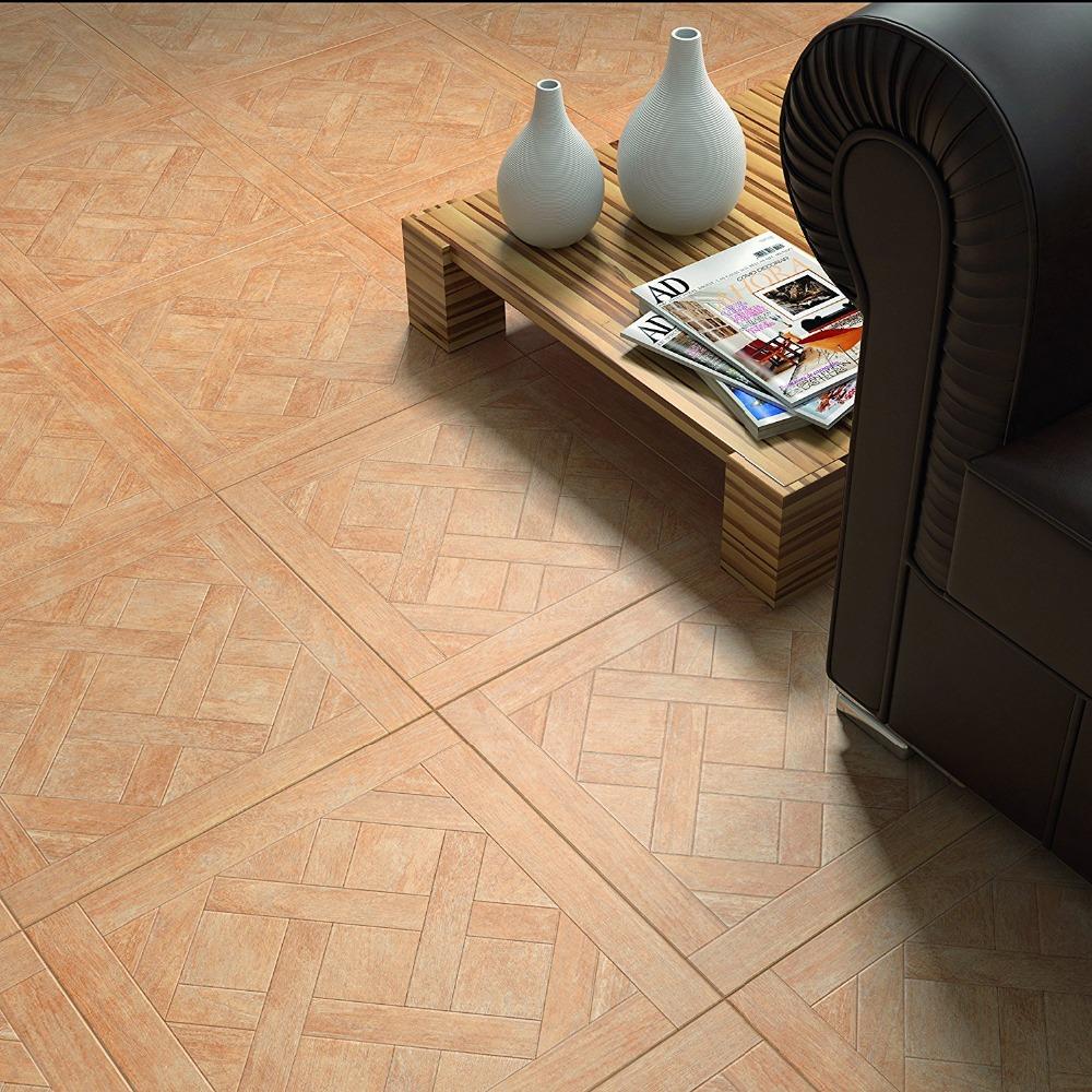 Vinyl ceramic tile