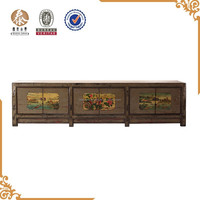 Antique furniture Rustic wooden hand painted furniture & kitchen cabinets