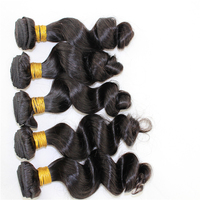 Homeage wholesale cyber monday hair extensions natural wavy indian remy human hair extensions