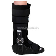 Inflatable Walker Boot Shoe Black Medical Ankle Brace