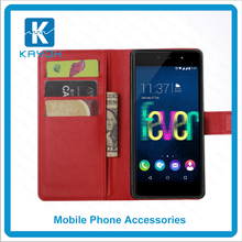 [kayoh]china supplier low price china mobile phone Stand Wallet Lychee Leather flip cover for Wiko Fever 4G case