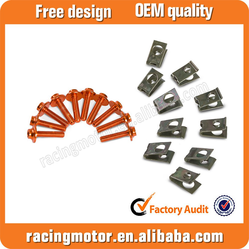 Faring Bolt Kit For Honda CBR150/250 Suzuki GSR 600/750/1000/1300 SV650/650S