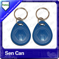 RFID 125 khz key fob with high quality ABS material type 2