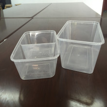 Disposable takeaway paper Chinese food packaging bento box with lid