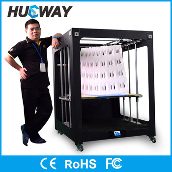High Precision Rapid Prototyping 1000*1000*1000mm Build Size 1meter Cube Large 3D Printer Sale