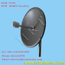 2.4GHz high gain outdoor wifi dish antenna TDJ-2400D9-24*2