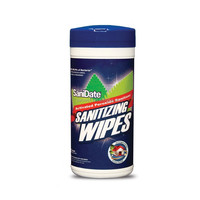 quick and easy surface antibacterial cleaning wipes in tube