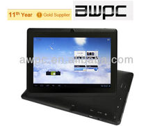"2013 Cheapest New Products ShenZhen Tablet Pc Allwinner A13 q88 7"" Tablets Cheap Tablet 7inch Wholesale"