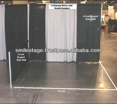 10ft tension fabric trade show booth
