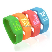 Silicone Wrist USB Flash Drive 1gb 2gb 4gb 8gb 16gb 32gb 64gb Bracelet USB Watch