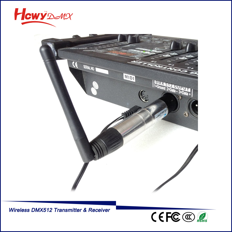 Professional Led Ball Dmx DMX512 Transmitter And Receiver Wireless Dmx Controller Dmx Lighting Console