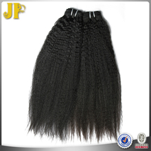 JP Hair Quality Guaranteed Peruvian Kinky Straight Human Hair Extentions