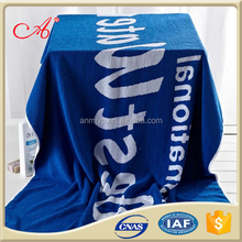 High quality promotion Jacquard style 21s/2 hotel beach towels