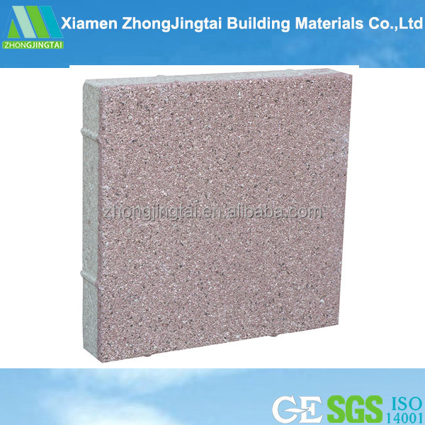 Standard Size Heat Resistant Water Permeable Bricks Made In China