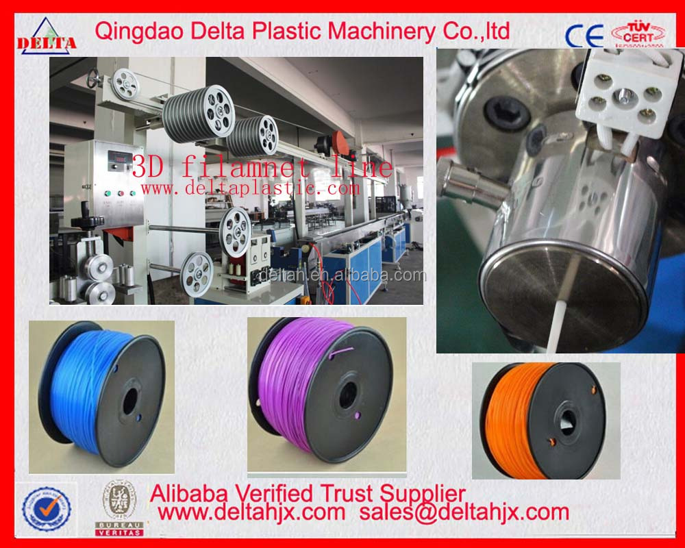 Factory make 3D printing mono filament material production line