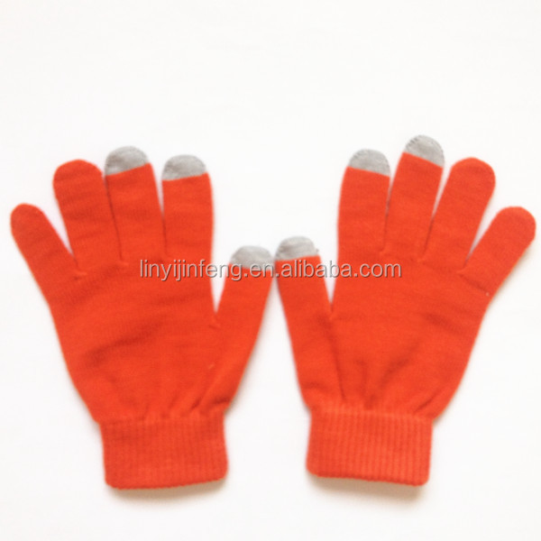 Acrylic gloves ,Safe, beautiful, convenient electronical products touch sreen gloves On Sale