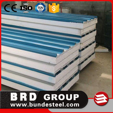 Hot selling expanded polystyrene EPS Sandwich roofing Panels for the Philippines, India, Thailand, Vietnam
