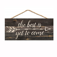 Living Room Bedroom Antique Wooden Quote Sign