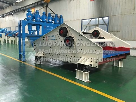 China product aluminum ore tailings disposal machine large capacity with low price