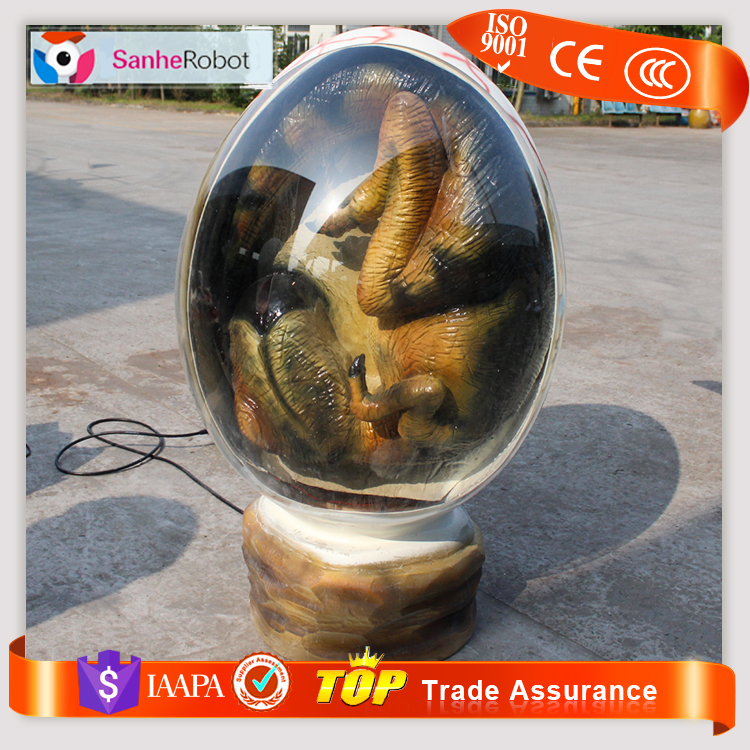 2017 new style egg Perspective Acrylic Display giant Surprise Eggs for events