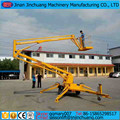 Hydraulic self propelled track articulated boom lift for sale
