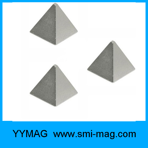 Professional supplier customized triangle neodymium magnet