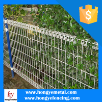 High Security Metal Garden Edging Timber Trellis Fencing ( China )