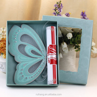 scroll wedding cards butterfly wedding invitation cards