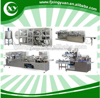 wet wipes making machine with Horizontal Flow Baby Wet wipes Packing Machine