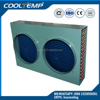 7.5HP Refrigeration Parts Air Cooled Condenser For Cold Room