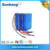 High quality customized capacity ICR18650 li-ion battery rechargeable 14.8v lithium battery pack for electric device