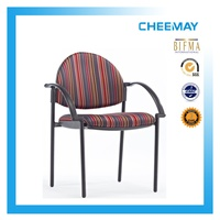 Stackable four-legged guest chair/conference chair/visitor chair