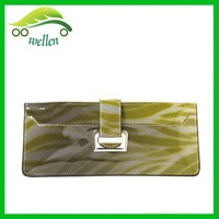 Simple colorful silver ultrathin women purse fashion trends wallet purse