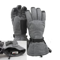Outdoor Sport winter thermal cycling thinsulate heated ski gloves