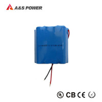 1865 power li-ion battery pack 3S3P11.1v 6.6ah lithium ion battery for supply and strong machine
