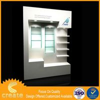 China factory metal mobile phone store display cabinet commercial display cabinets