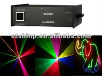 SHINP Full Color building laser light