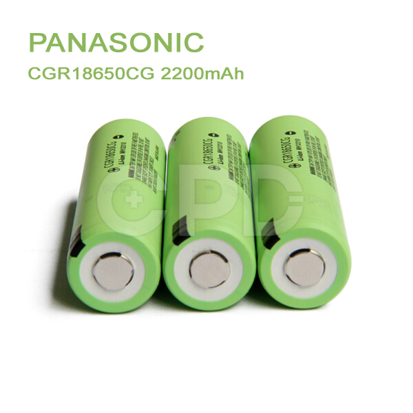 Genuine & Original for P anasonic 18650 3.7V 2250mAh Li-ion Battery CGR18650CG for G3 Starter Kit
