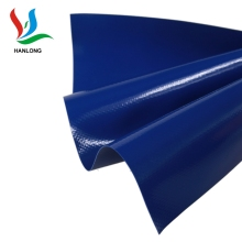 Rational construction polyester vinyl coated fabric 500d pvc tarpaulin