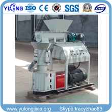 flat die mobile wood pellet mill with CE
