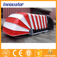 Solar power automatic retractable car parking shade IT212 with CE